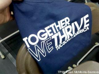 tucson memorial shirt