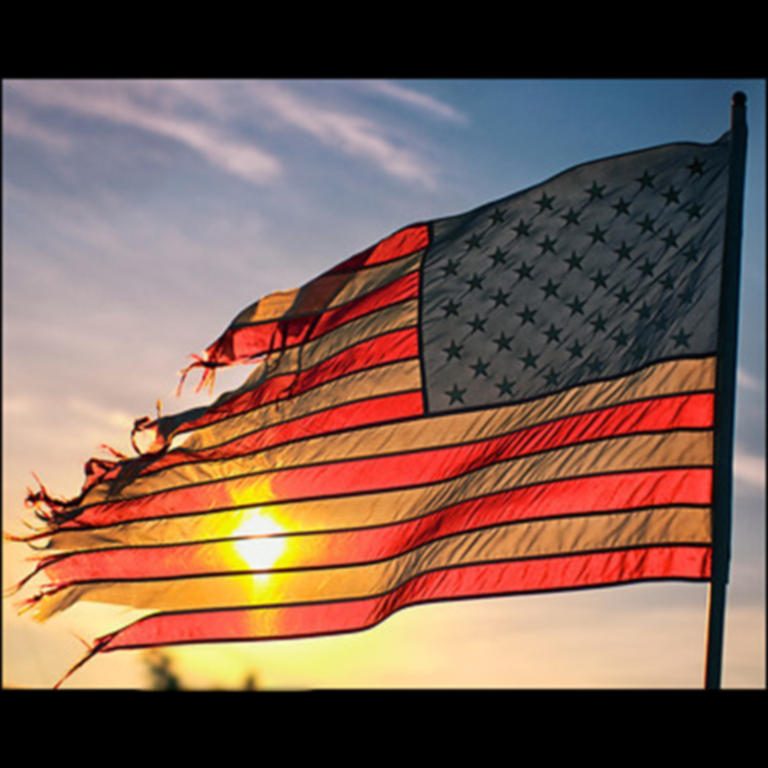 americanflagintatters